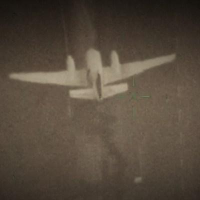 Video: Ejército graba desde el aire operativo para interceptar avioneta Cessna con coca en Bacalar