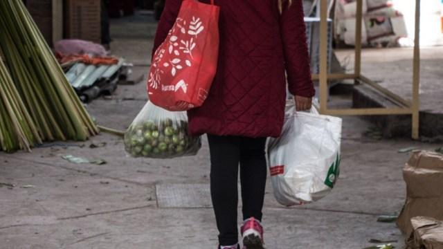 Baja uso de bolsas de plástico en CDMX