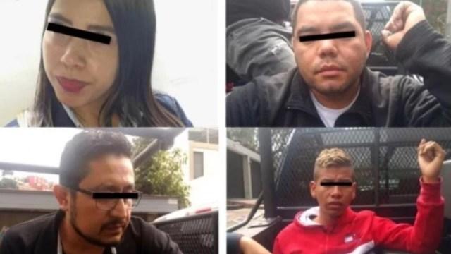Foto: Se les acusa de los delitos de robo con violencia, robo a casa habitación, así como portación de arma de fuego, en zonas residenciales como Tecamachalco y La Herradura de este municipio