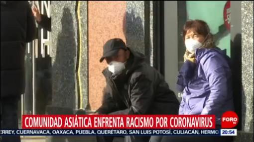 Foto: Comunidad Asiática Enfrenta Racismo Coronavirus 4 Febrero 2020