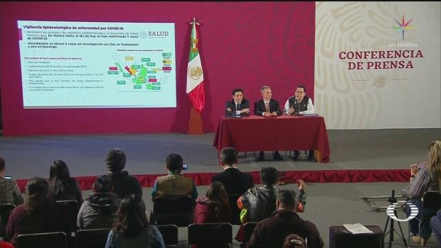 Foto: Coronavirus México Confirmados 3 Casos Hoy 28 Febrero 28 Febrero 2020