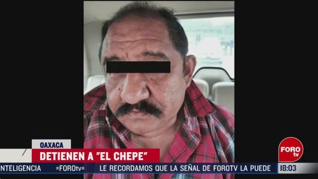 FOTO: 29 febrero 2020, confirman arresto de el chepe en oaxaca