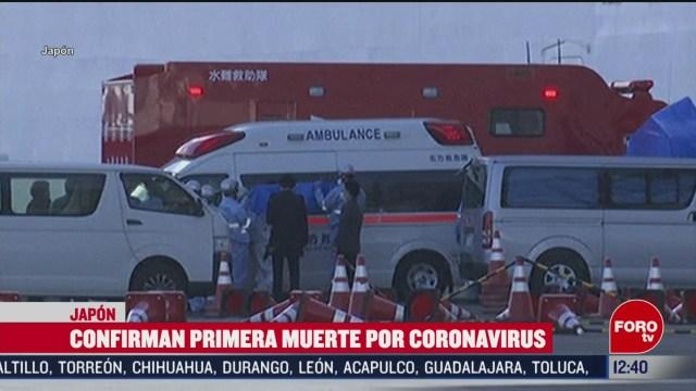 confirman primera muerte en japon por coronavirus covid