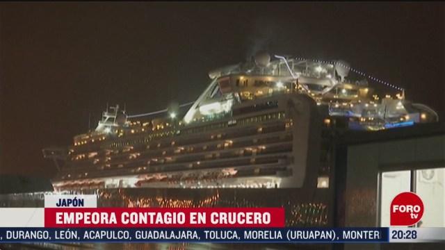 Foto: Contagios Coronavirus Aumentan Crucero Diamond Princess 17 Febrero 2020