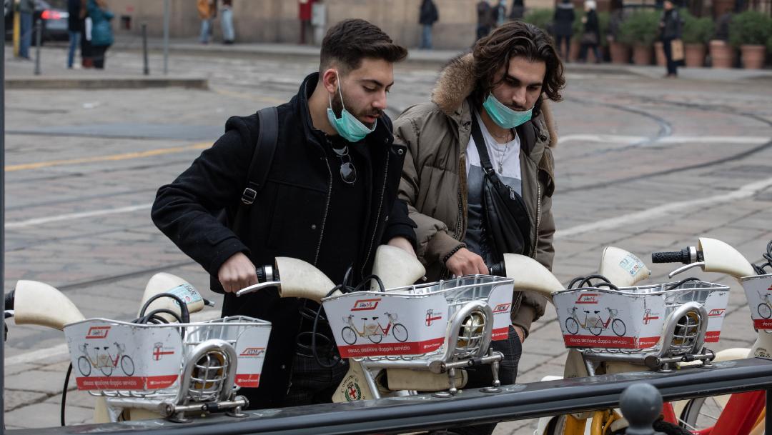 FOTO: Suman 12 muertos y 374 contagiados en Italia por coronavirus, el 26 de febrero de 2020