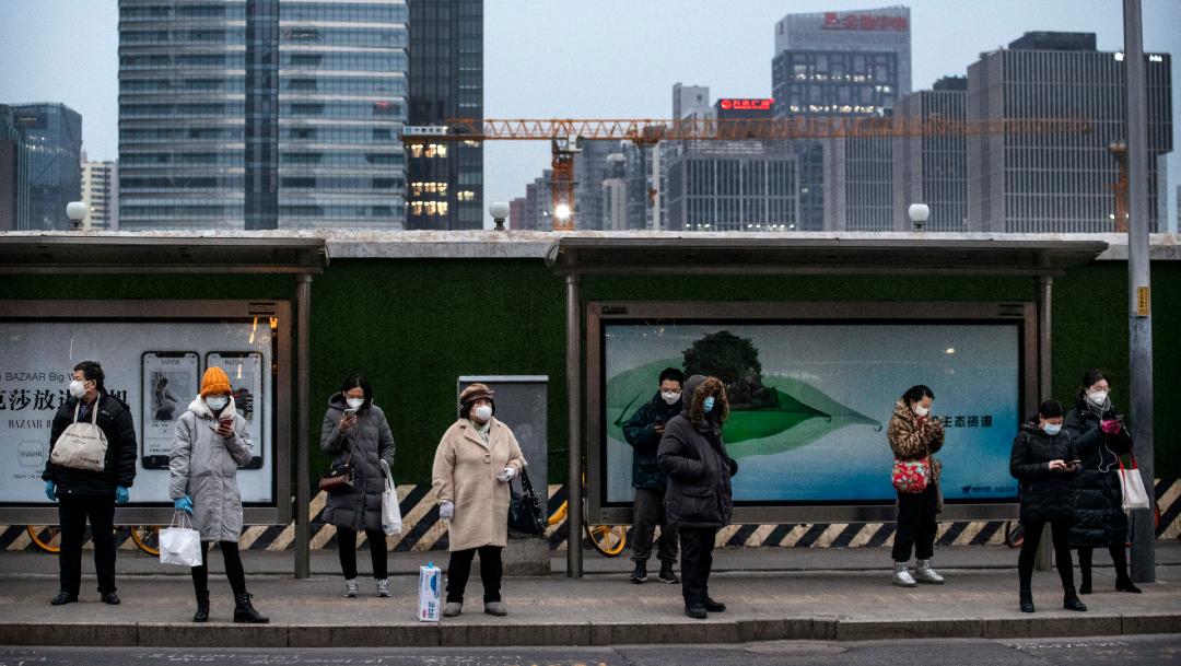 FOTO: Algunos curados de coronavirus vuelven a dar positivo en China, el 26 de febrero de 2020