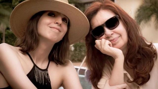 Foto: Cristina Fernández publica foto con su hija Florencia