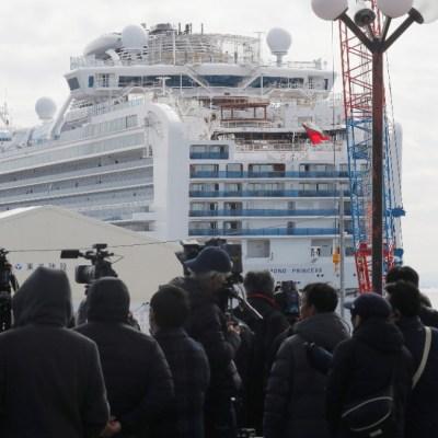 Foto: Una mujer que abandonó crucero resultó positivo de coronavirus (Reuters)