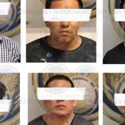 Detienen a seis presuntos integrantes del Cártel de Santa Rosa de Lima