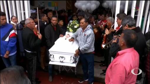 Foto: Niños Asesinados Uruapan Michoacán Último Adiós 5 Febrero 2020
