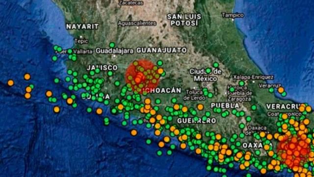 IMAGEN Descartan formación de volcán en Michoacán (UNAM)