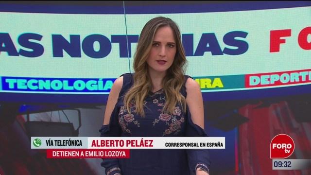 detienen a emilio lozoya exdirector de pemex en espana