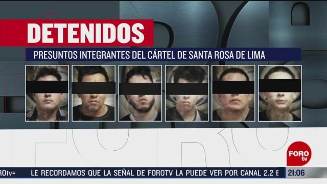 FOTO: 15 Febrero 2020, detienen en irapuato a seis presuntos integrantes del cartel de santa rosa de lima