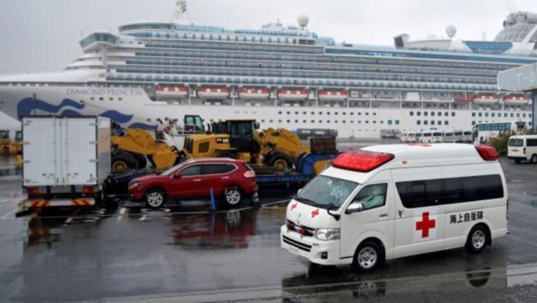 Foto: Además de los ciudadanos estadounidenses repatriados, otros 44 que estaban a bordo del crucero dieron positivo en las pruebas del nuevo coronavirus y permanecerán en hospitales de Japón