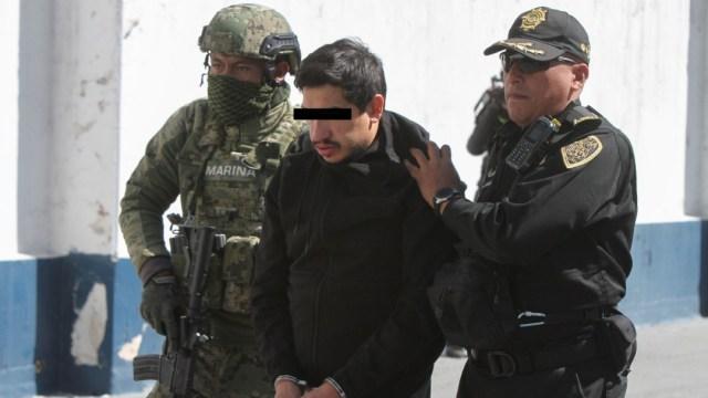 Imagen: Vuelven a detener a 'El Lunares', 8 de febrero de 2020 (Armando Monroy/Cuartoscuro.com)