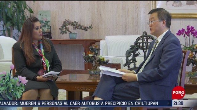 Foto: Embajador China Mexico Exclusiva Coronavirus Epidemia 17 Febrero 2020