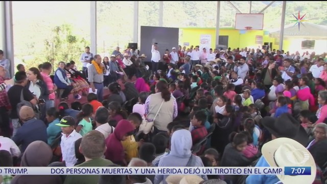 entregan apoyo en chilapa tras asesinato de musicos