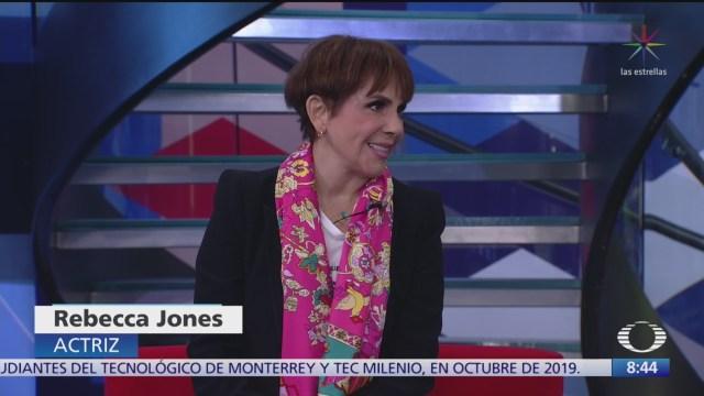 entrevista con rebeca jones en al aire