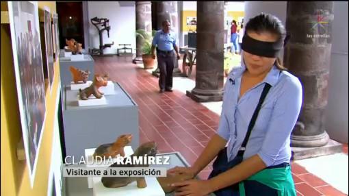Foto: Exposición Ciegas Museo Regional Historia Colima 10 Febrero 2020