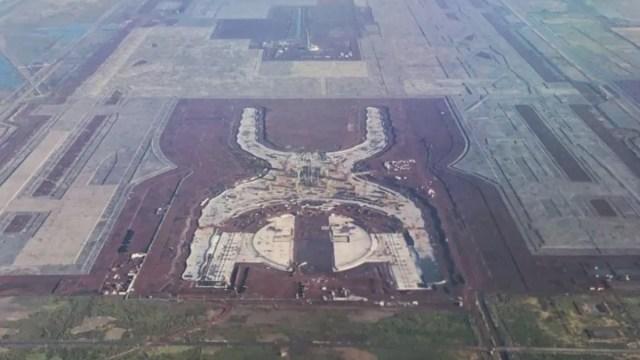 Foto: Ruinas del Nuevo Aeropuerto Internacional de la Ciudad de México (NAIM). Cuartoscuro