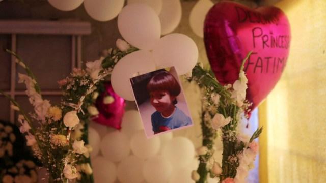 Foto: Familiares asisten al velorio de la niña Fátima. Reuters
