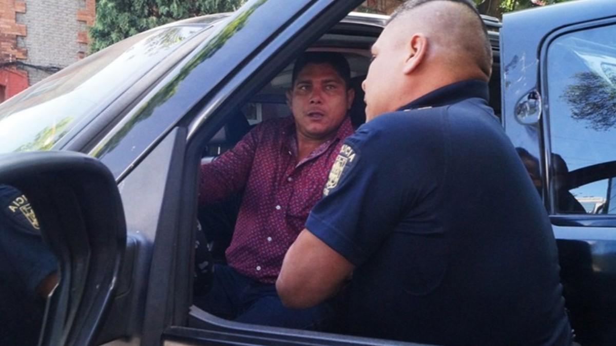 Foto: Los policías detuvieron a Mario Espinosa Zetina.