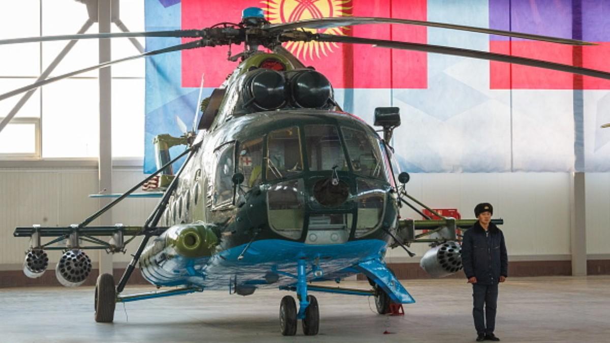 Foto: Helicóptero ruso. Getty Images/Archivo
