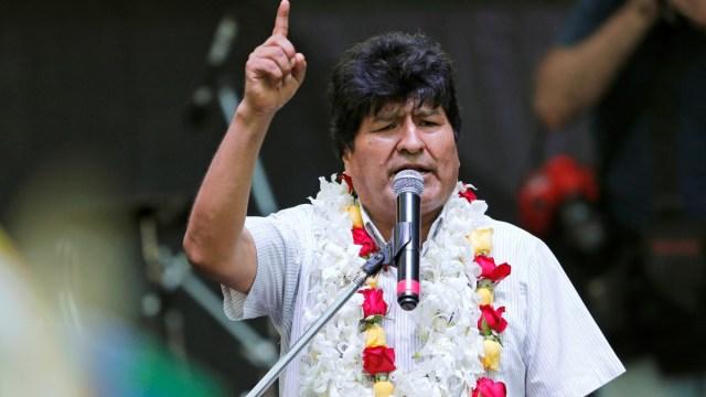 Foto: Evo Morales, expresidente de Bolivia. Reuters