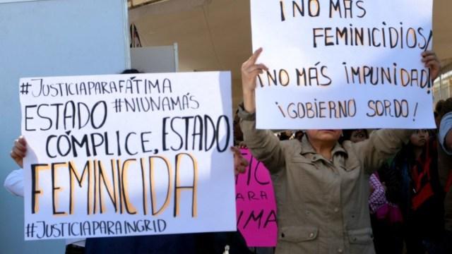 Foto: Protestan contra feminicidios en México. Cuartoscuro