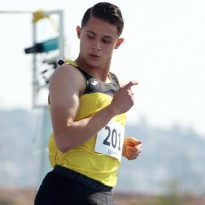 Foto: Atleta olímpico Martín Alejandro Loera Trujillo
