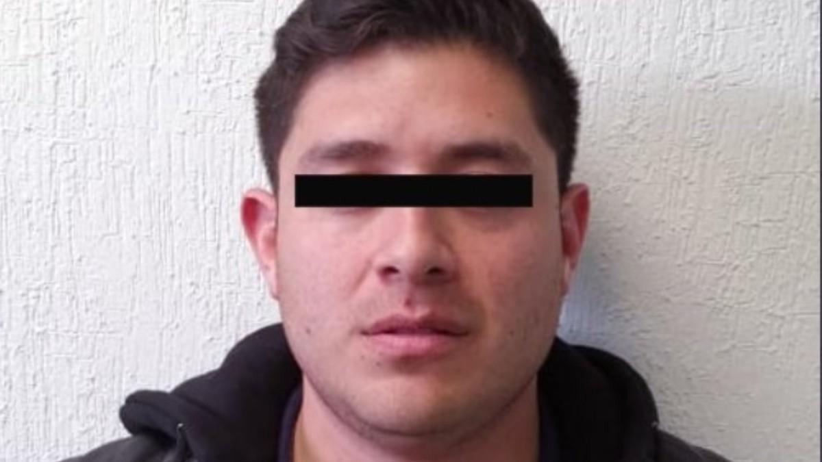 Foto: Kevin Alfredo fue ingresado al Centro Penitenciario de Ecatepec. Twitter/@FiscalEdomex