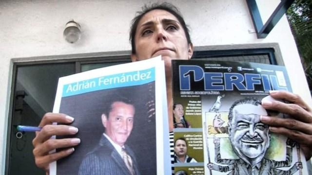 Foto: Denuncian el secuestro del periodista Adrián Fernández.