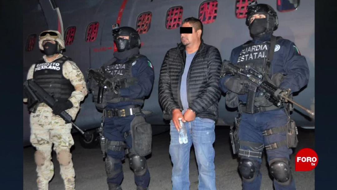 """FOTO: 29 febrero 2020, Foto: Detienen a Fabián """"N"""", alias """"La Vieja"""", presunto fundador del Cartel de Santa Rosa de Lima, 29 febrero 2020"""