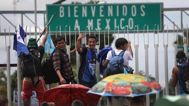 Foto: Detienen a 40 migrantes en frontera sur, en Chiapas, 1 de febrero de 2020, (Getty Images, archivo)