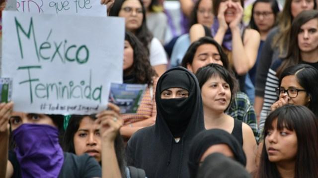 Foto: Segundo día de protestas por el feminicidio de Ingrid Escamilla, 15 de febrero de 2020, (Getty Images)