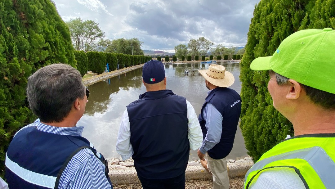 Gobernador de Jalisco encabeza excursión en río Santiago