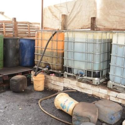 Aseguran 2 mil litros de gasolina en frontera de México con Guatemala