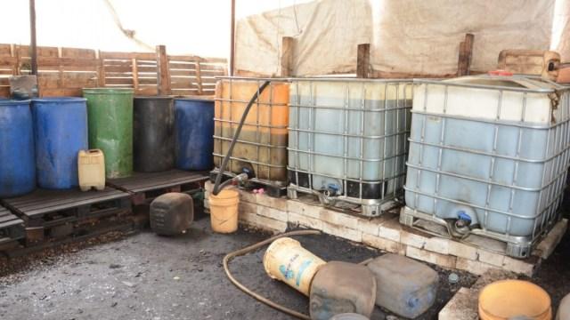 Aseguran 2 mil litros de gasolina en Chiapas