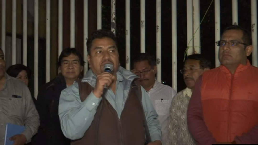 FOTO: Estalla huelga en la Universidad Autónoma Benito Juárez de Oaxaca, el 01 de febrero de 2020
