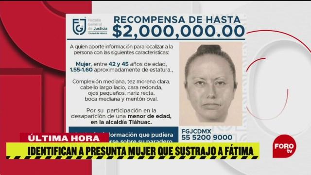 Foto: Identifican Mujer Sustrajo Fátima Escuela 18 Febrero 2020