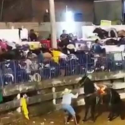 Video: Comando dispara contra asistentes en jaripeo de Iguala, Guerrero