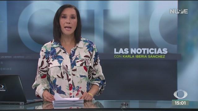FOTO: 3 Febrero 2020, las noticias con karla iberia programa del 3 de febrero de