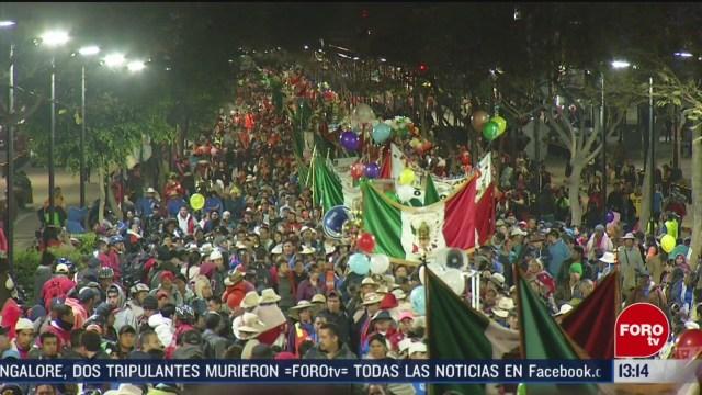 FOTO: llegan a la basilica de guadalupe peregrinos de la diocesis de toluca