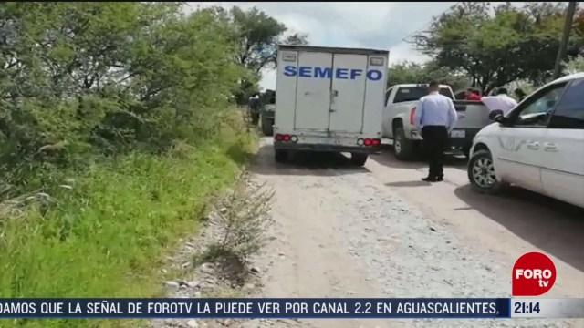 FOTO: 23 Febrero 2020, localizan nueve cuerpos en dos fosas clandestinas en guanajuato