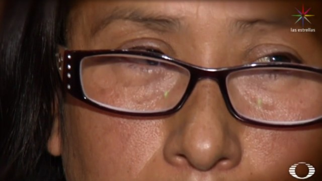 FOTO Mamá de Giovana 'N' dice que es inocente de muerte de Fátima (Noticieros Televisa)