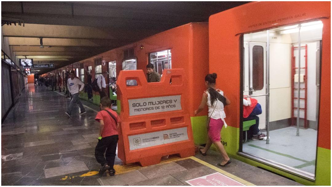Imagen: El Metro crea Camaleon, una campaña para cuidar la salud de sus usuarios, 16 de febrero de 2020 (VICTORIA VALTIERRA/ CUARTOSCURO.COM)