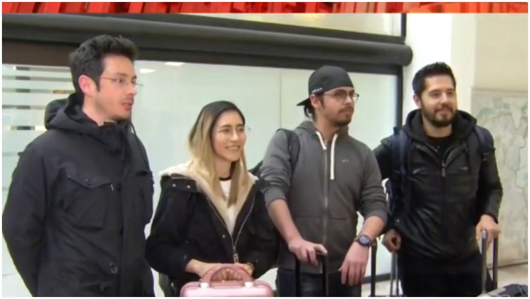 Foto: Mexicanos provenientes de Marsella ya están en el país, 16 de febrero de 2020 (Foro TV)