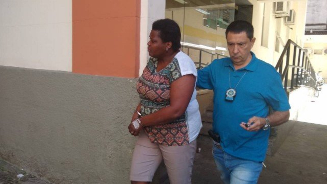 Foto: Claudete Maria Rosa da Silva, de 39 años, simuló tener coronavirus, 8 febrero 2020