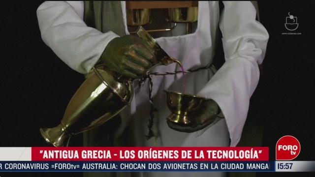 FOTO: museo de tecnologia griega antigua exhibe mas de cien inventos