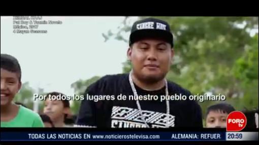 Foto: Músicos Rescate Lenguas Totonaca Maya Rap 21 Febrero 2020